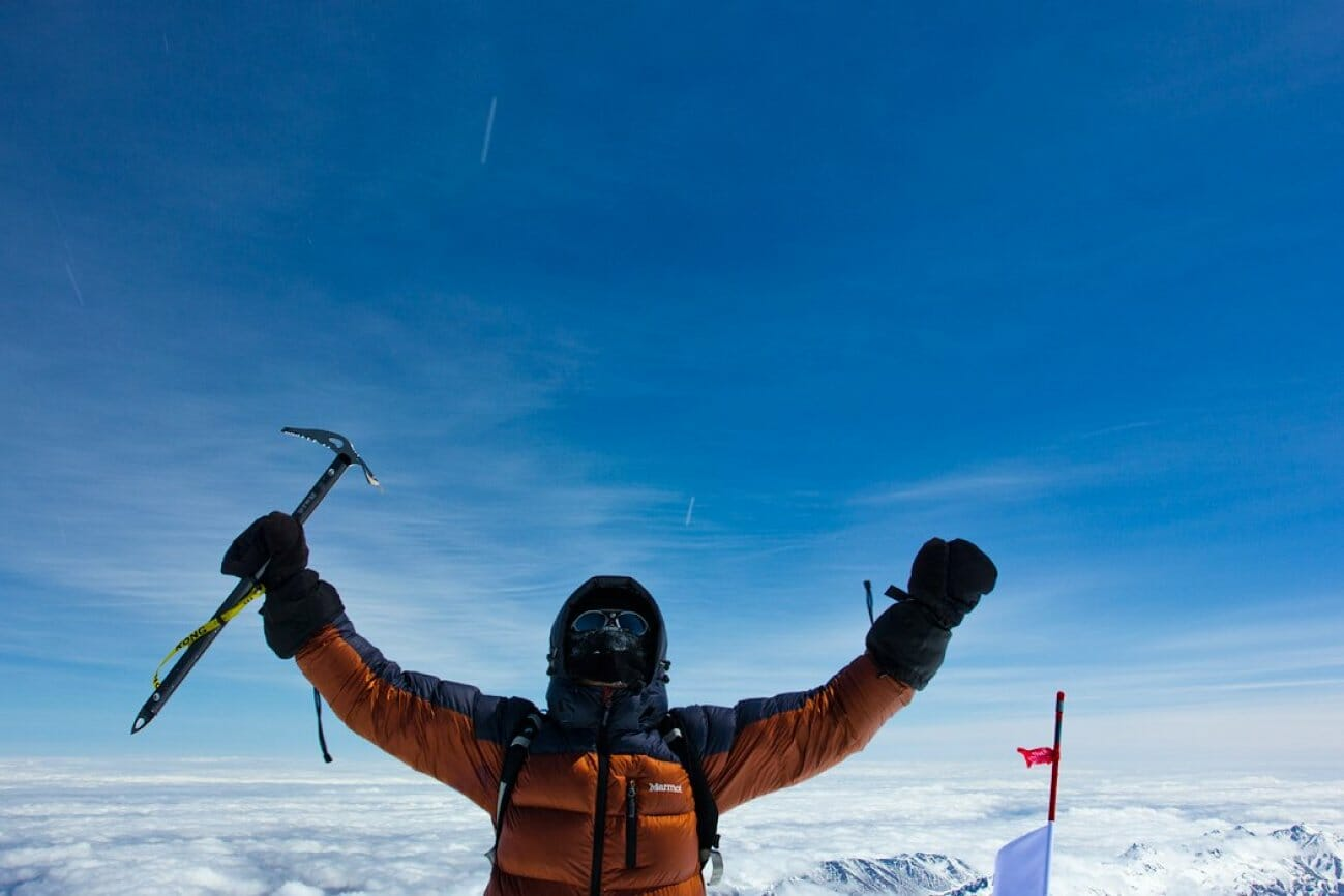 Александр Чазов восхождение на гору