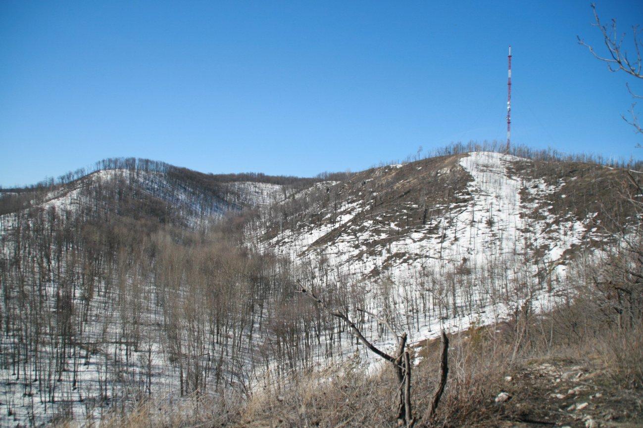 Хмурые серые горы