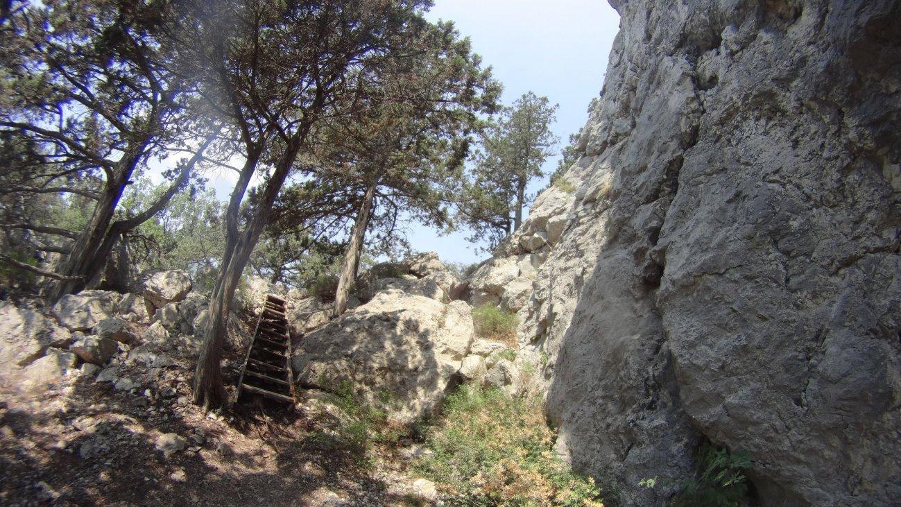 Горная лестница