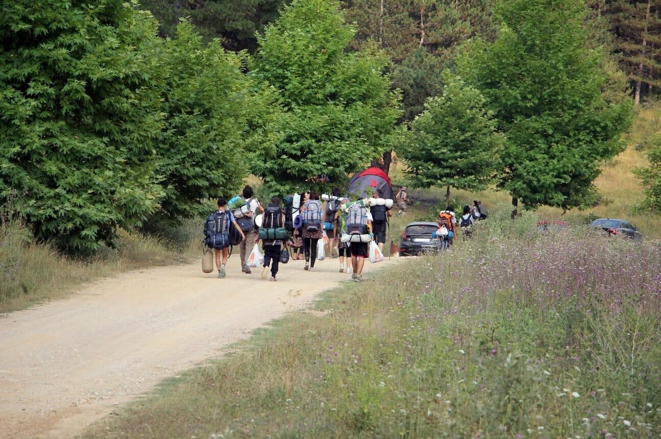 Туристический поход это один из видов активных отдыха