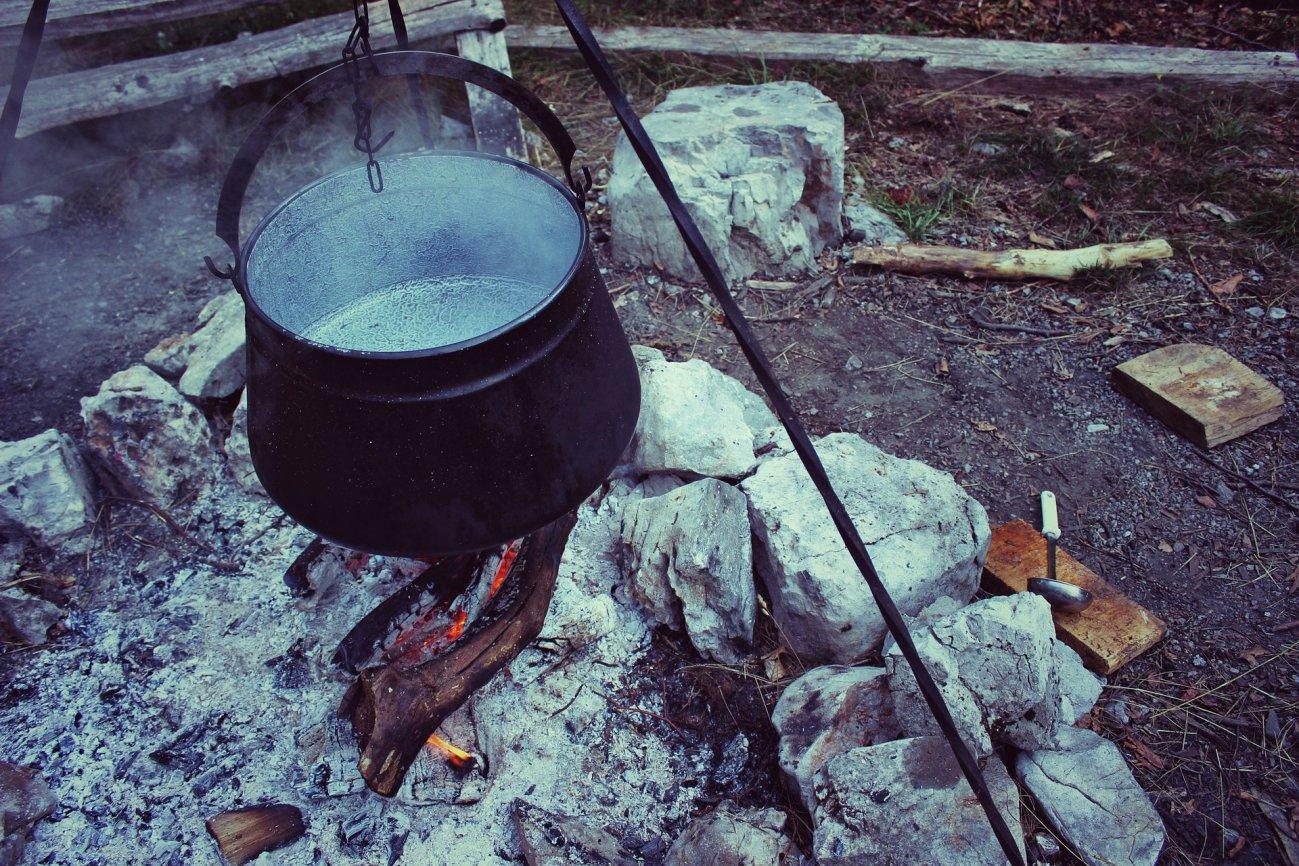 Приготовление еды в турпоходе