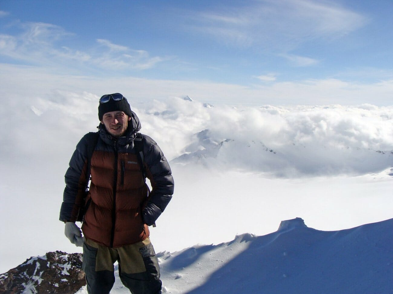 Александр Чазов в горах