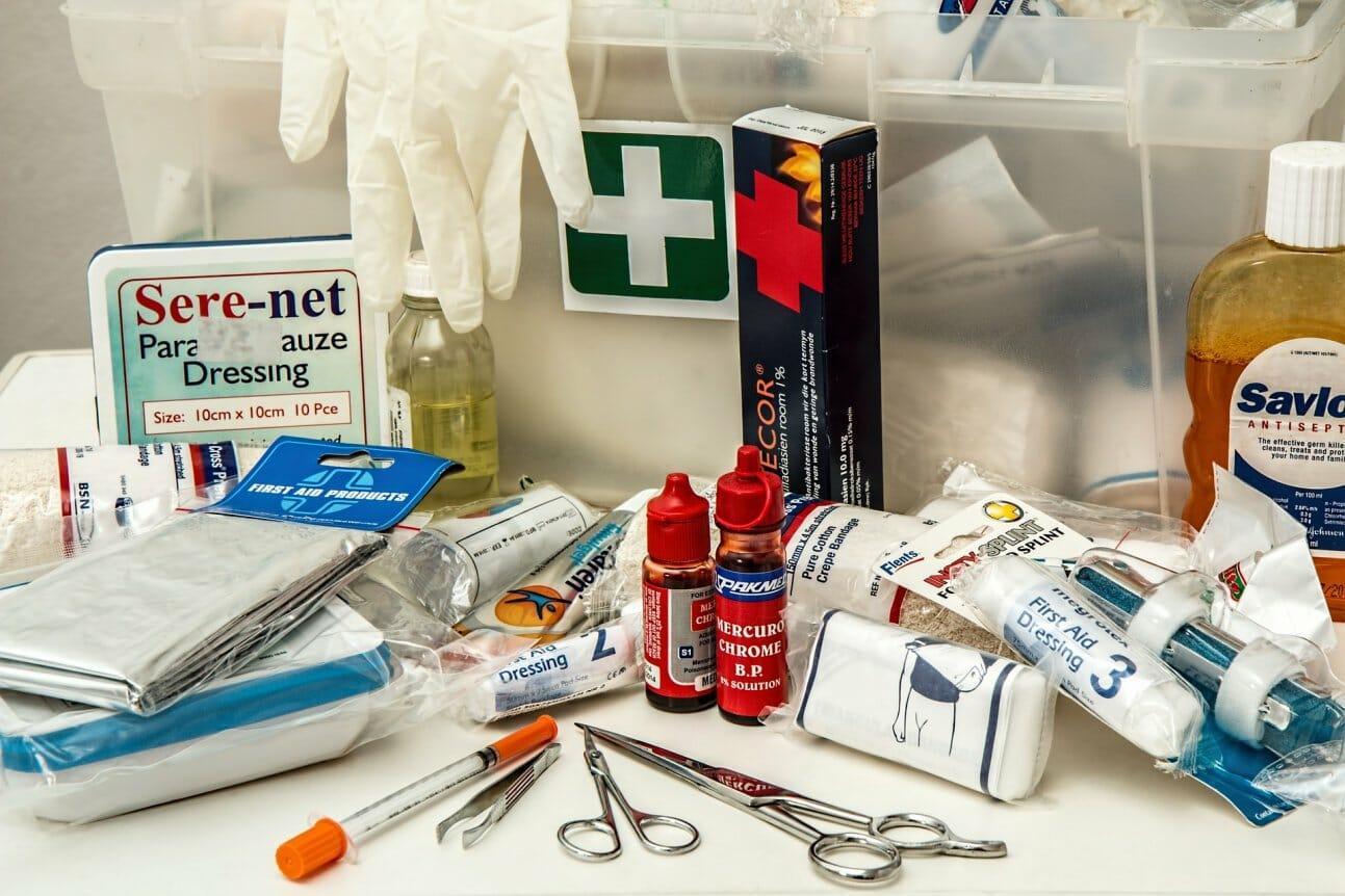 Медицинские аптечки