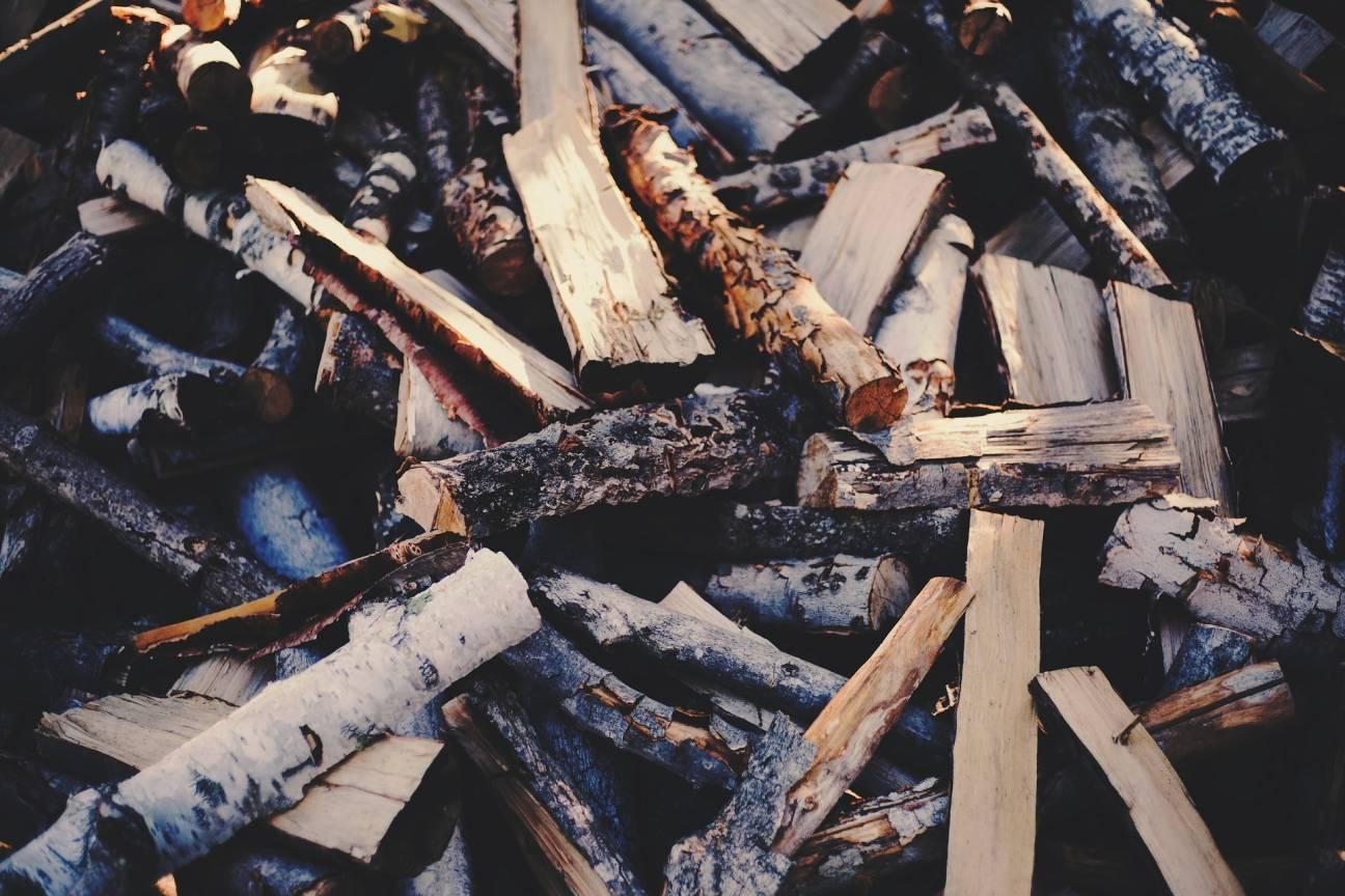 Мокрые дрова в туристическом походе