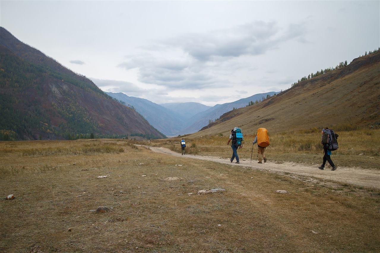 Возвращение туристов домой на Алтае