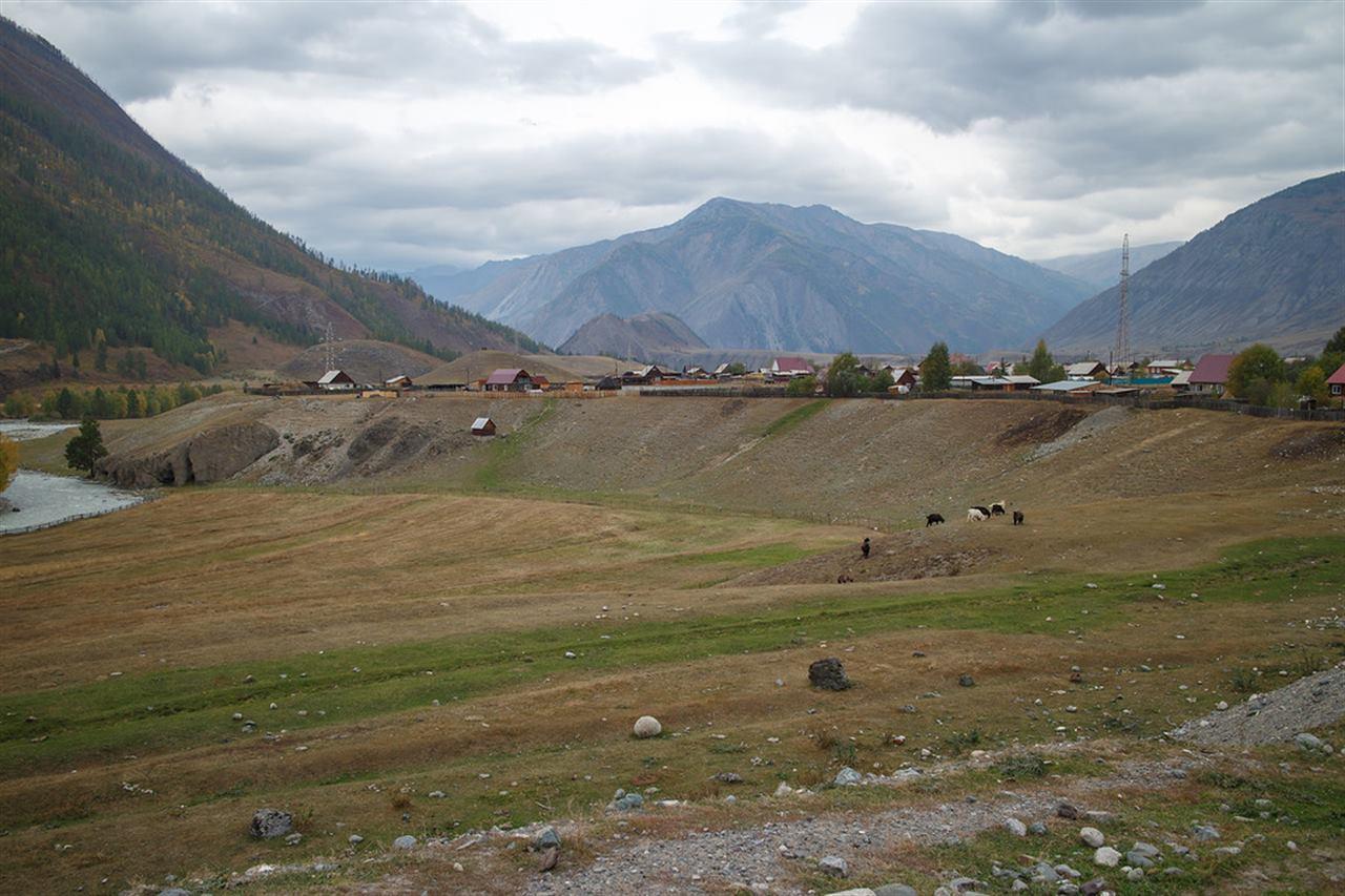 Деревня на Горном Алтае