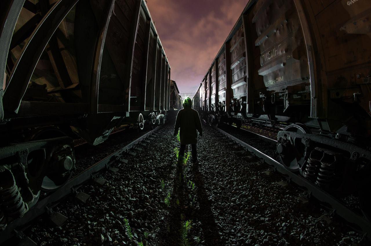 Путешественник между вагонов