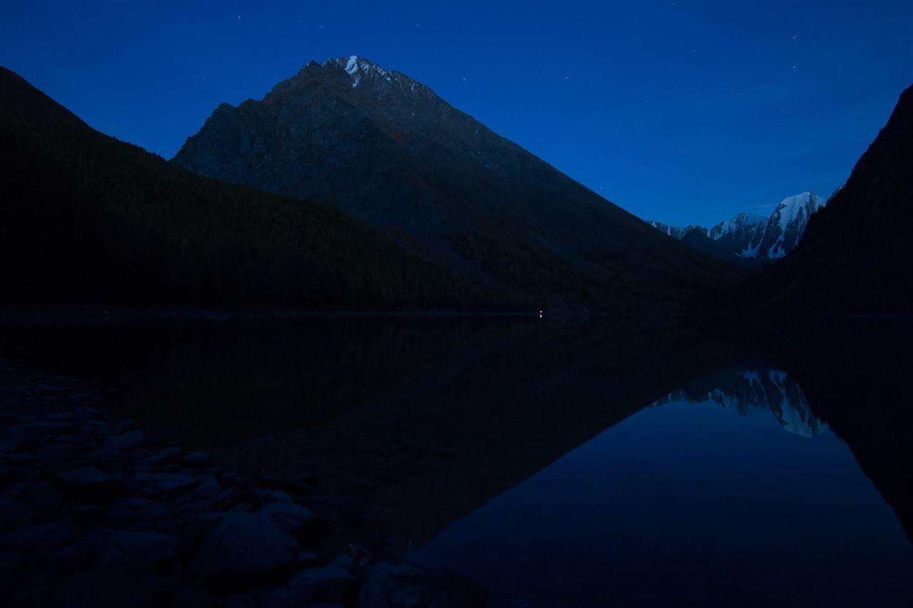 Алтайская ночь в горах