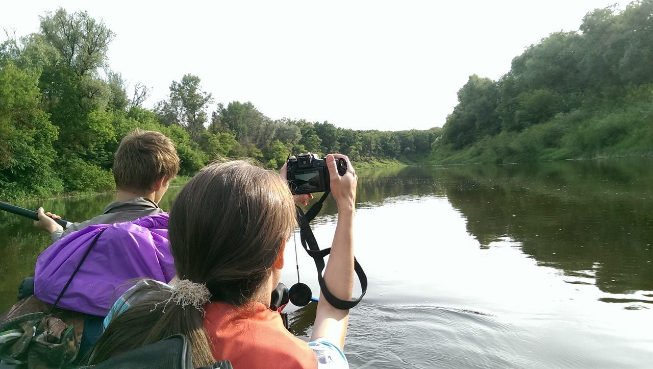 Фотографирование реки