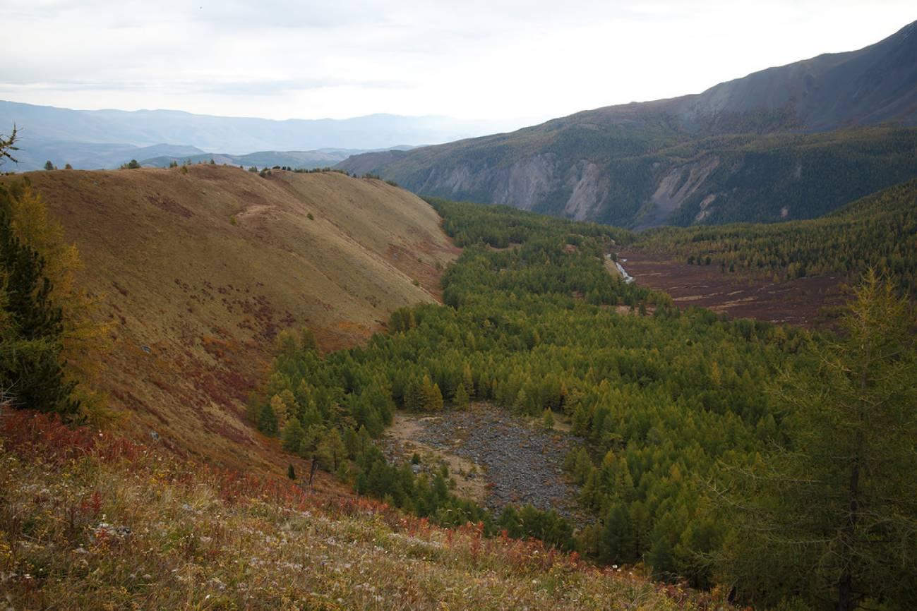 Долина в горах