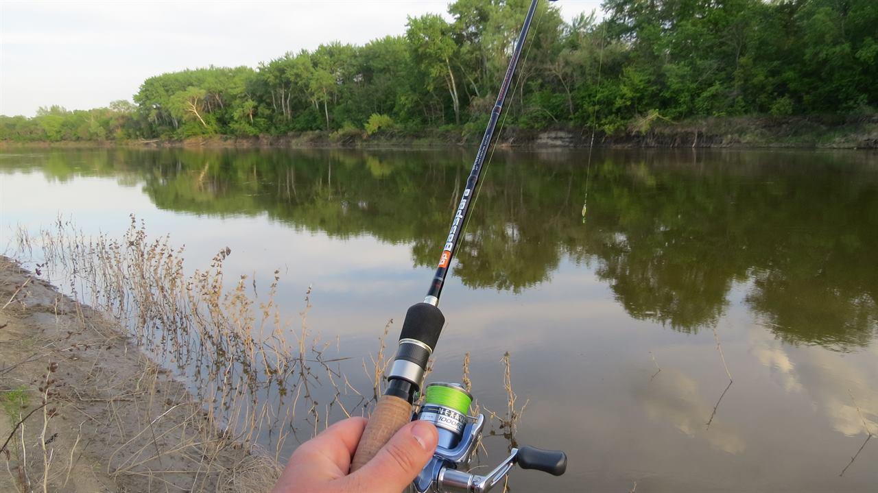 Сплав и рыбалка на реке
