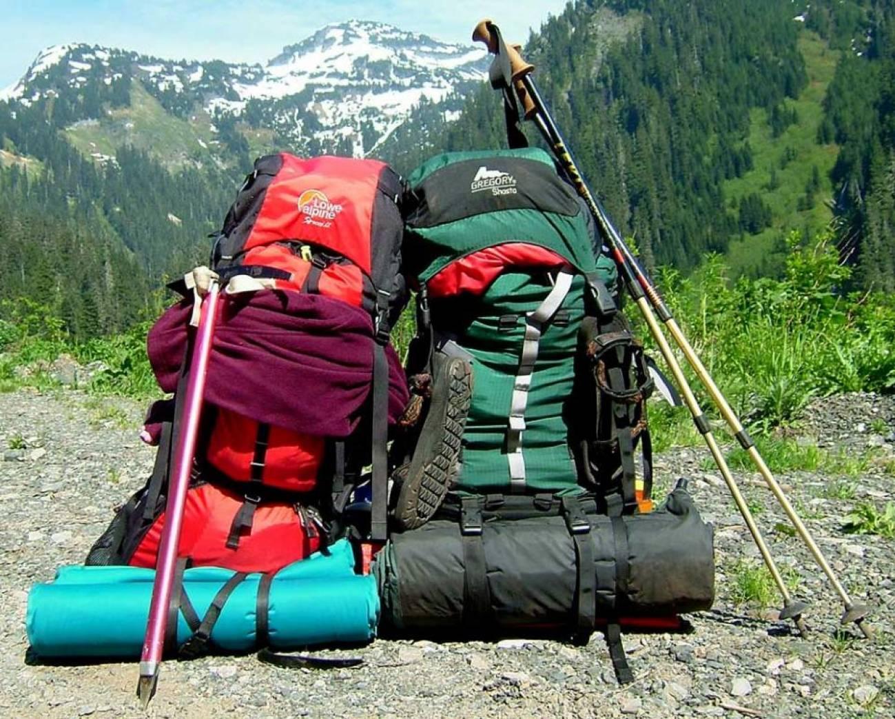 Большие рюкзаки для сложных походов