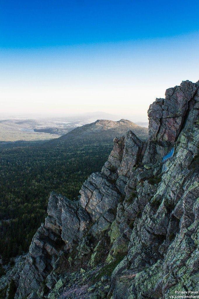 Скалы на Урале