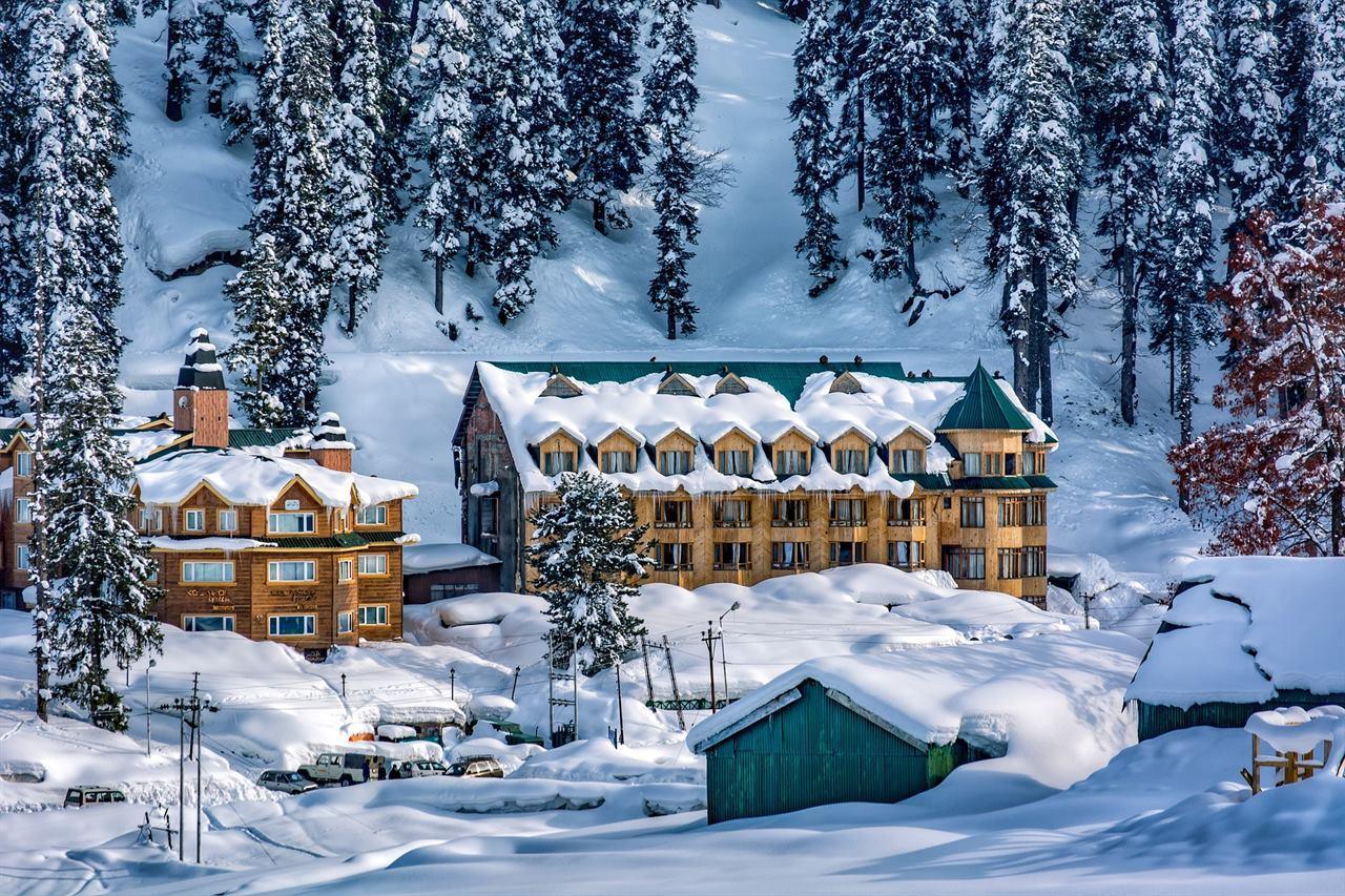 Горнолыжный курорт в Гималаях
