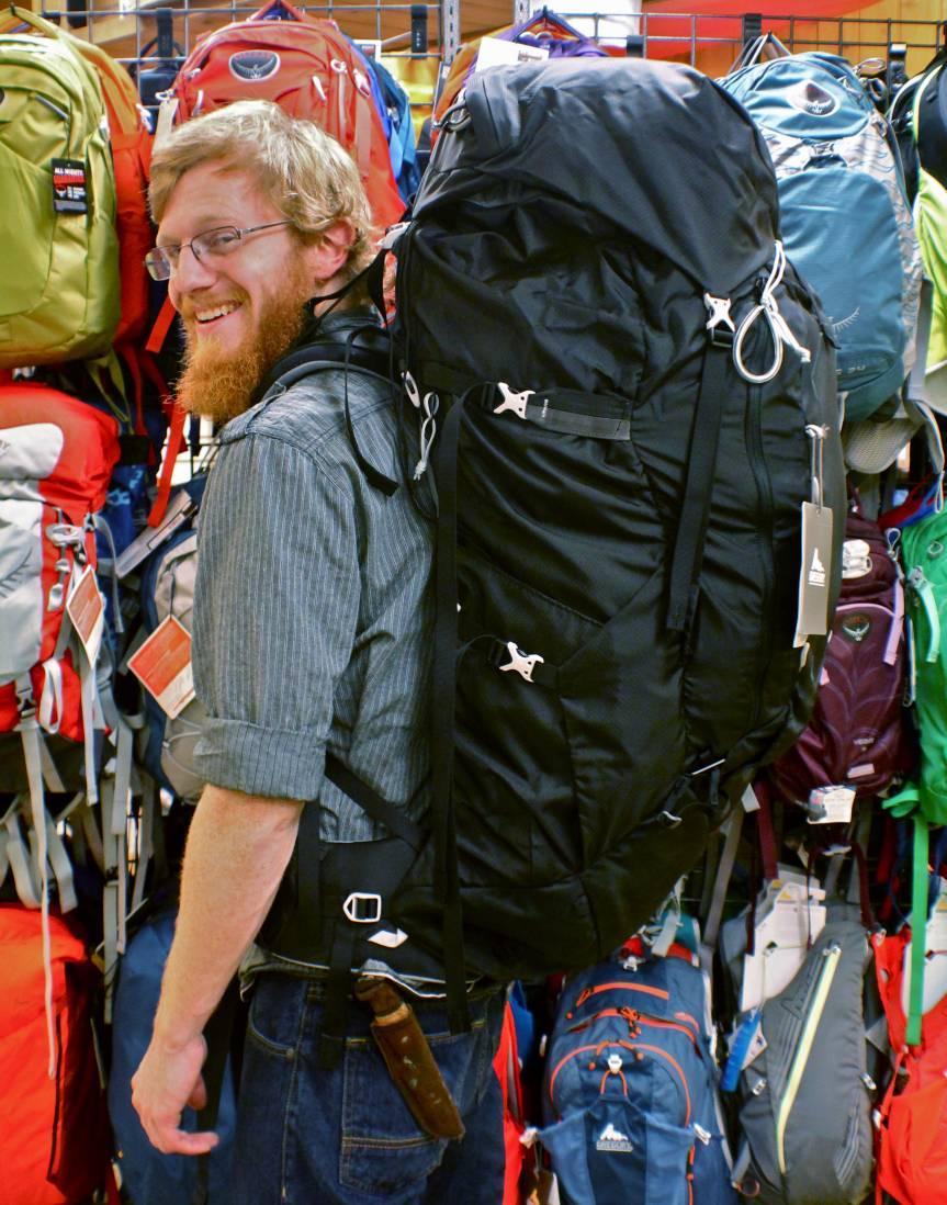 Недорогие рюкзаки для начинающих путешествий