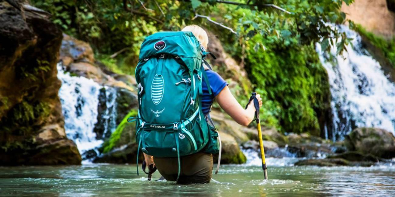 Рюкзак для сплавов по рекам, озерам и прудам