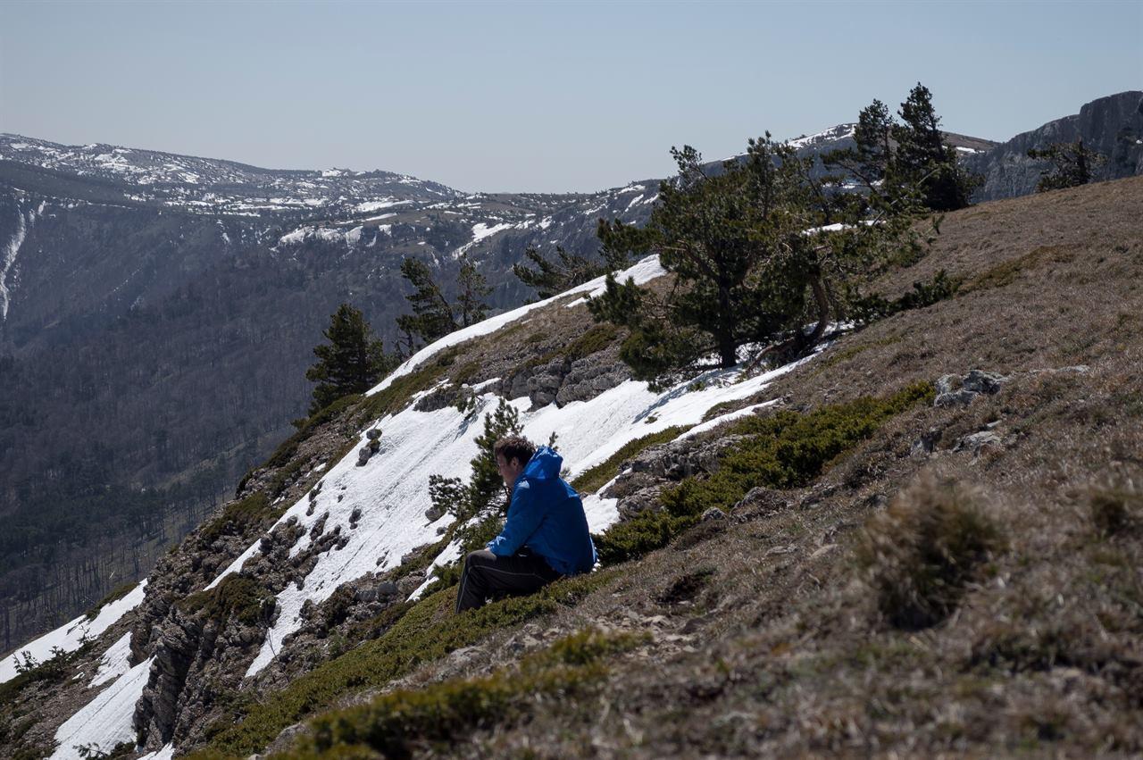 Путешествие по горам в одиночку