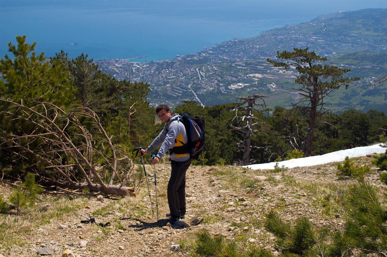 Одиночный поход по горам