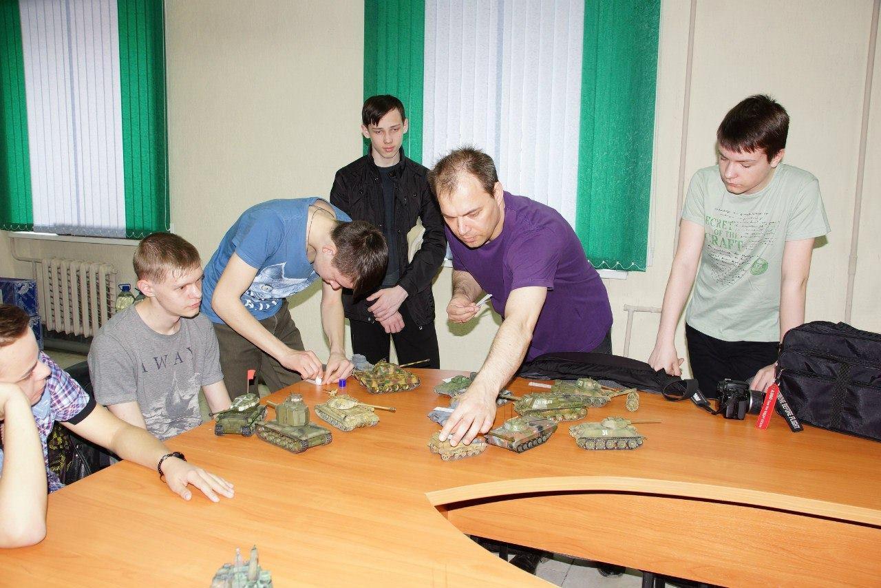 Подготовка моделей к выставке