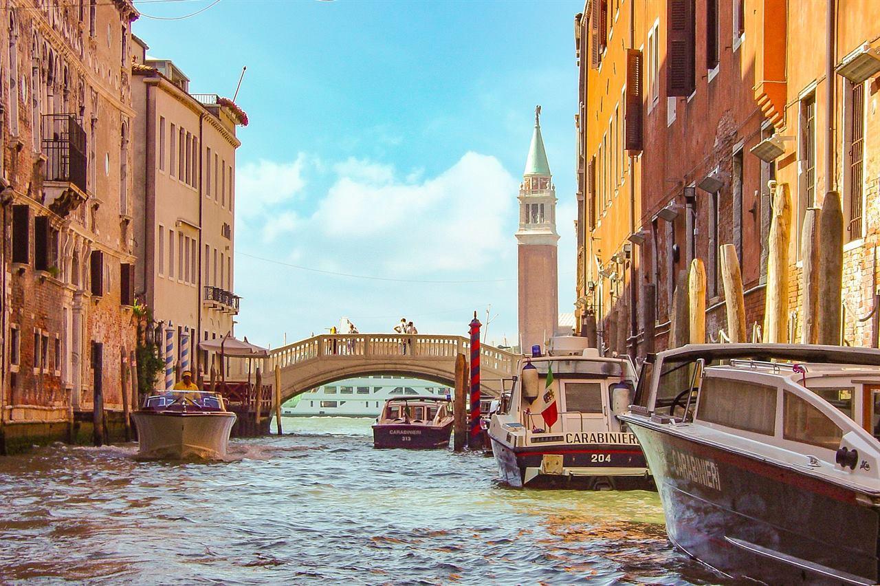 Венеция на катере
