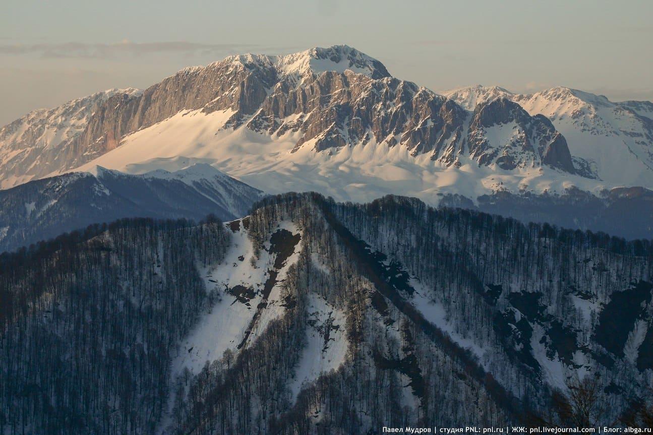 Горы в заповеднике