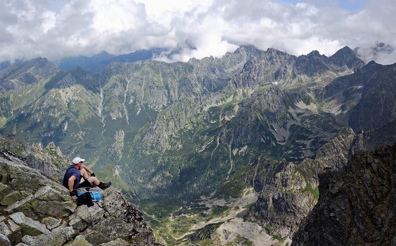 Отдых в горах с рюкзаком