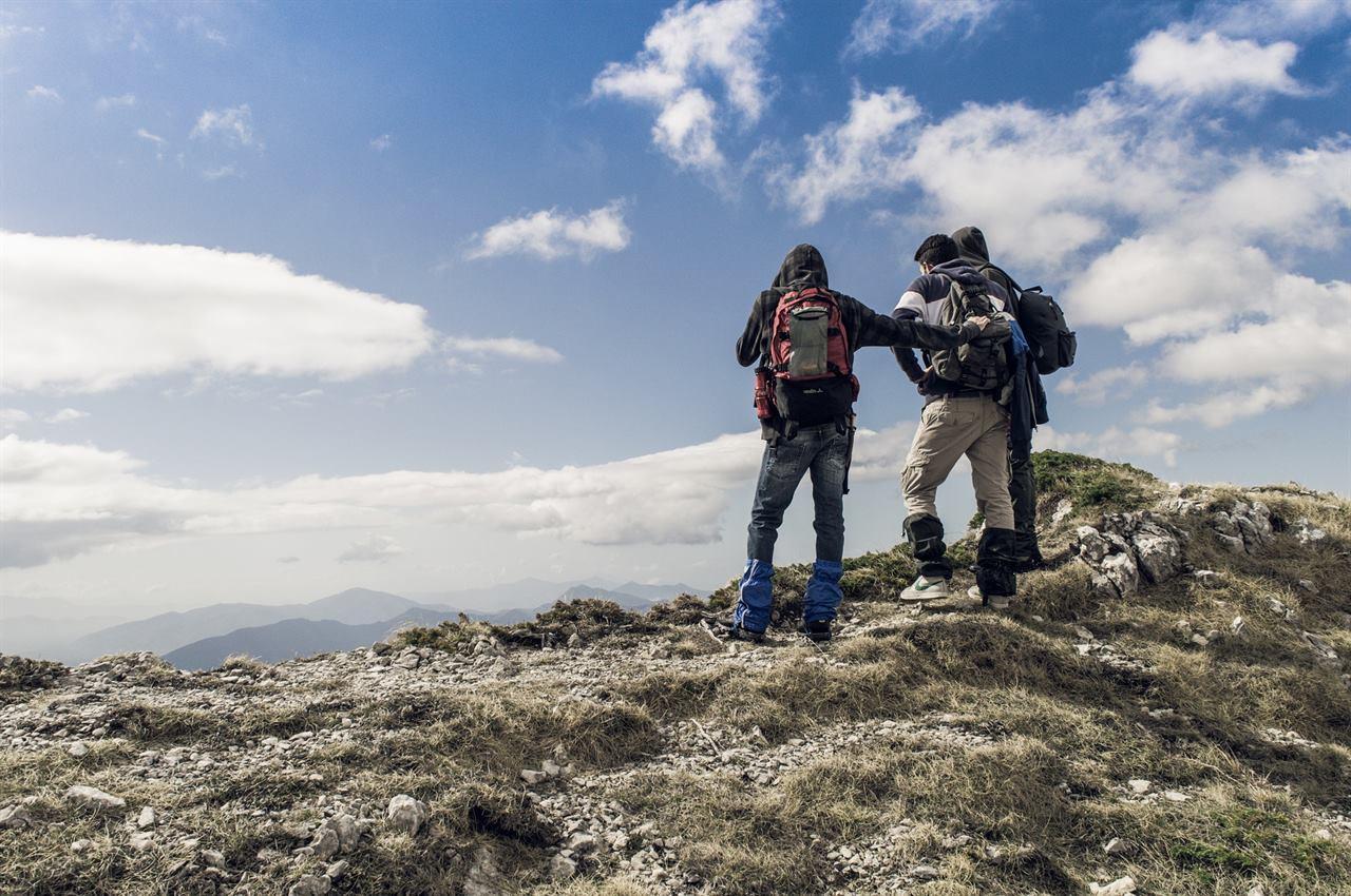 Путешествия с друзьями по горам