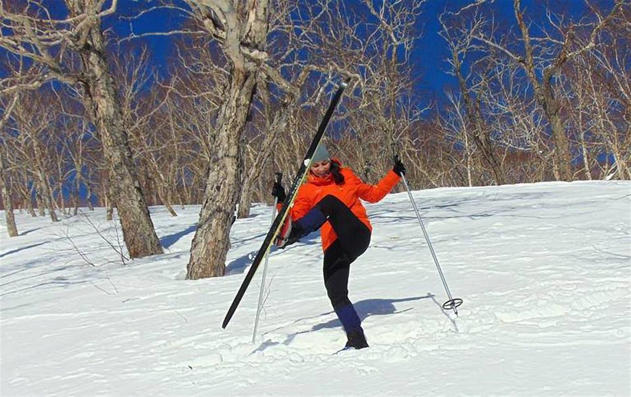 Отдых на лыжах на Камчатке