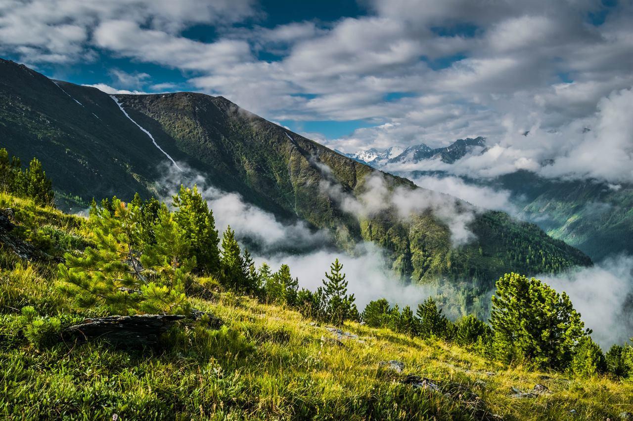 Облачные горы на Северном Урале