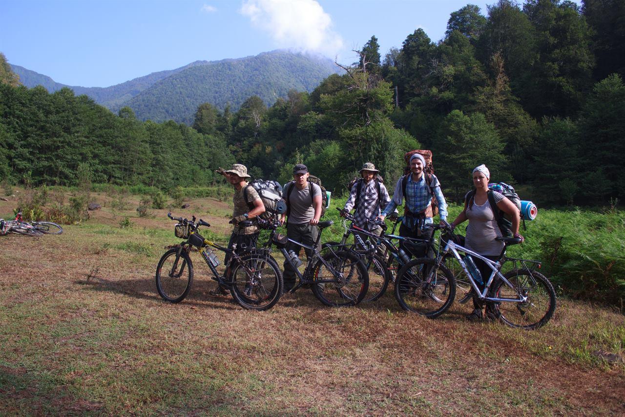 Велопоход с друзьями