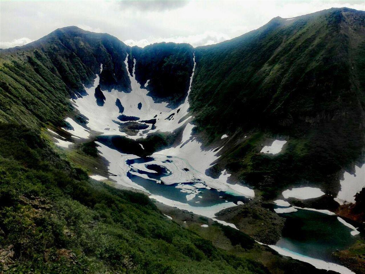 Камчатские вулканы и горы