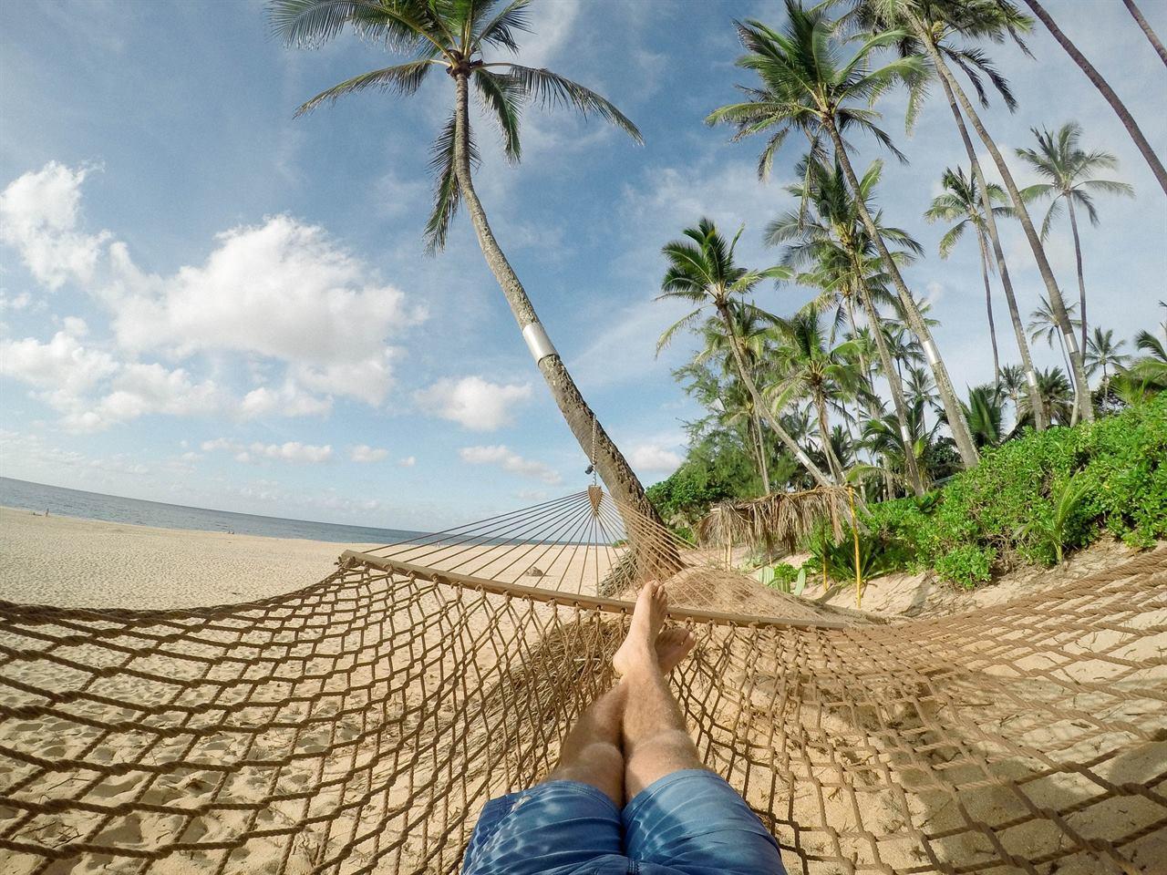 Пляжный отдых на берегу океана