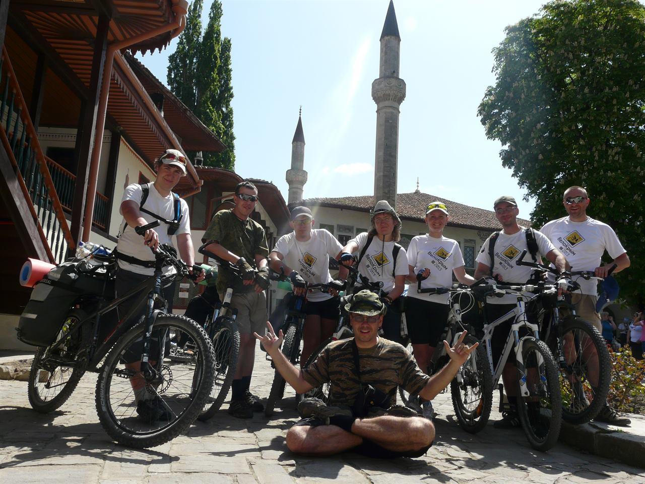 Туристический велопоход с друзьями