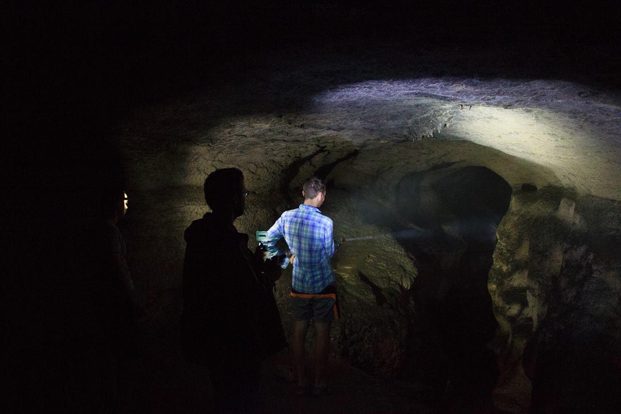Посещение пещеры