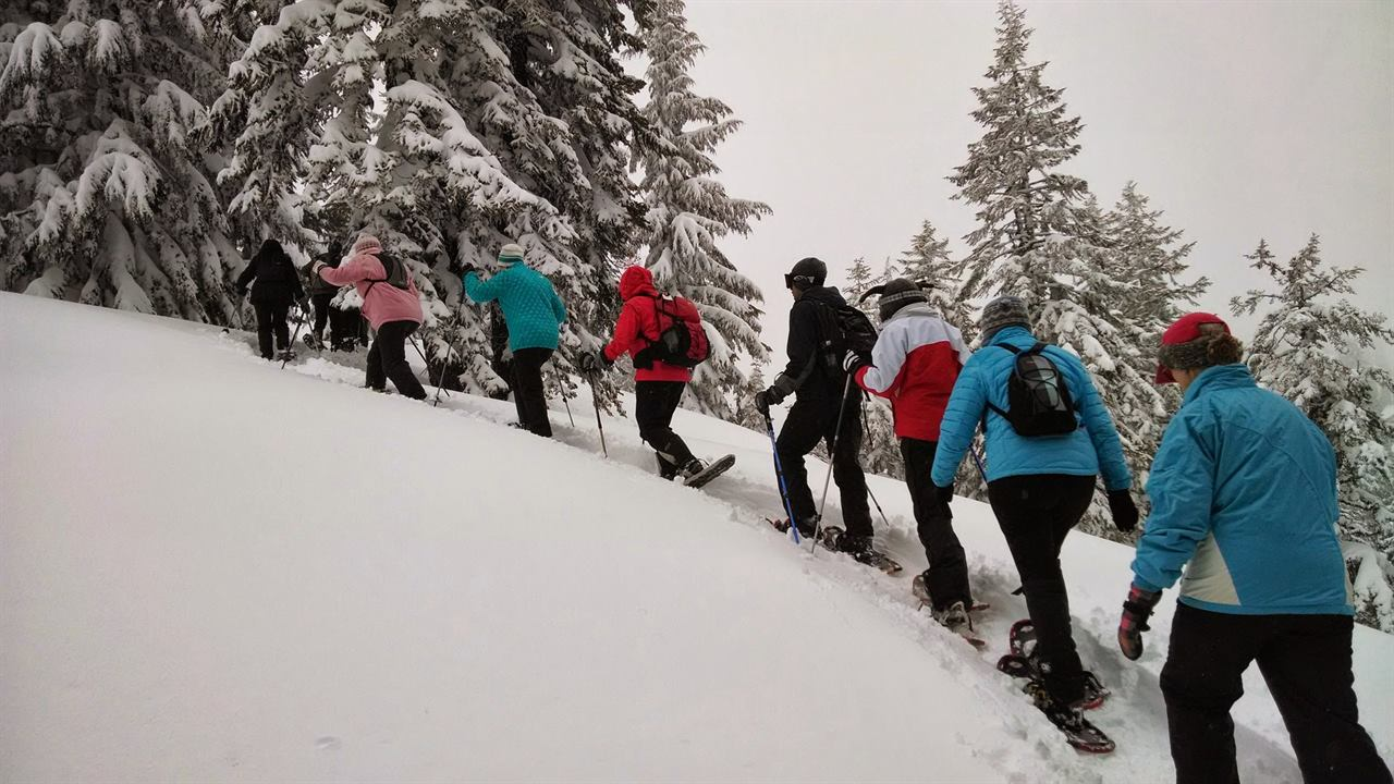 Турпоход зимой по горам