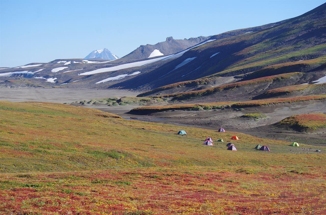 Турпоходы с палатками в горы