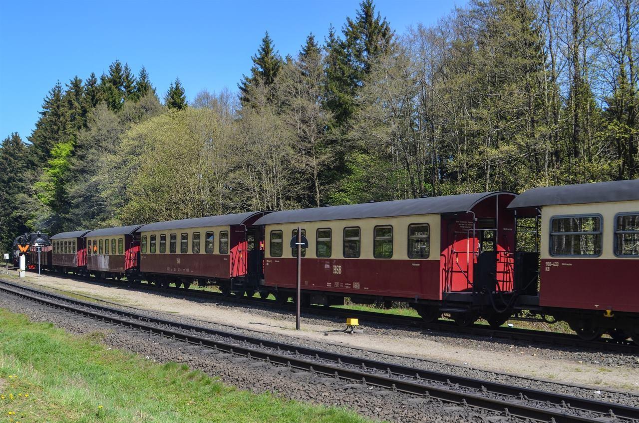 Вагоны туристического поезда