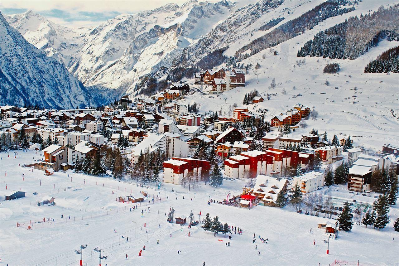 Франция горнолыжный курорт