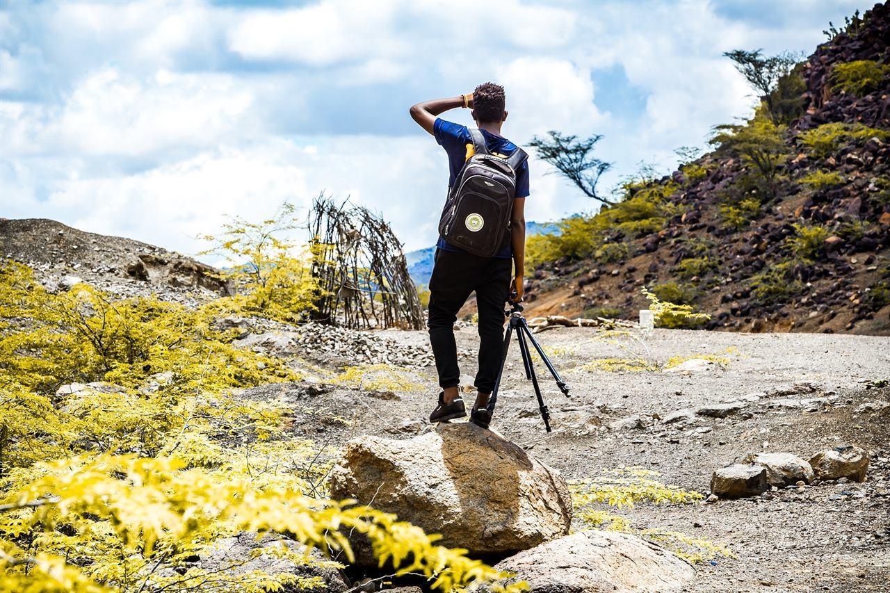 Фотограф-путешественник в походе без кошек и собак
