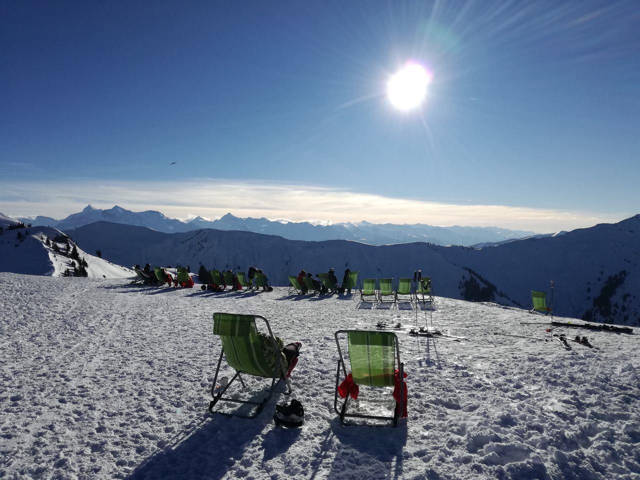Австрия горнолыжный курорт