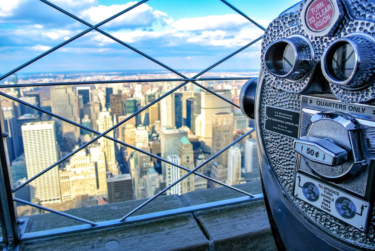 Смотровая башня для туристов