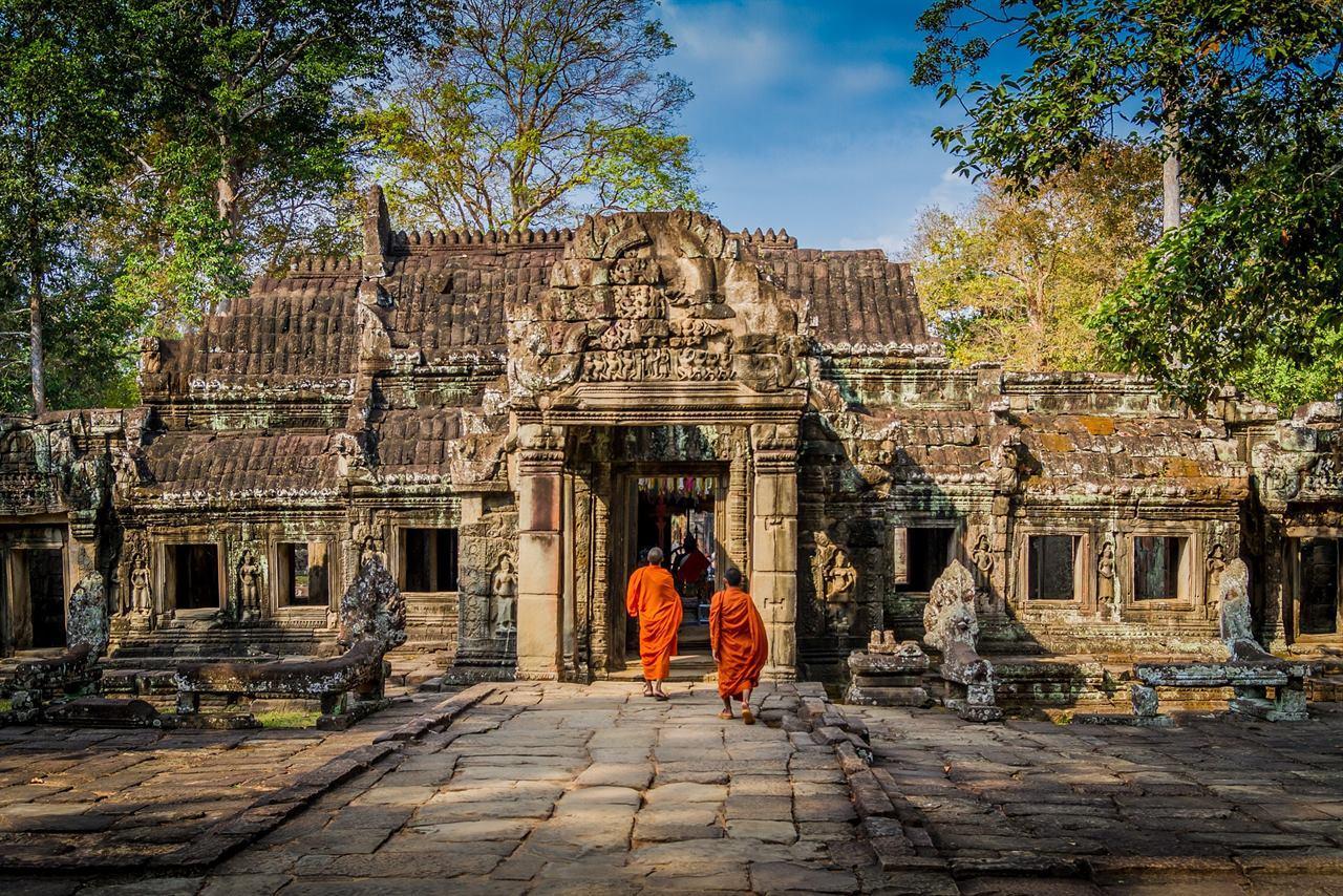 Путешествие в древнюю Азию. Байон