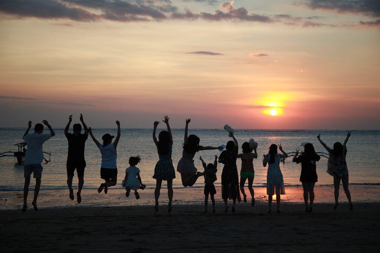 Семейный отдых на Бали с друзьями