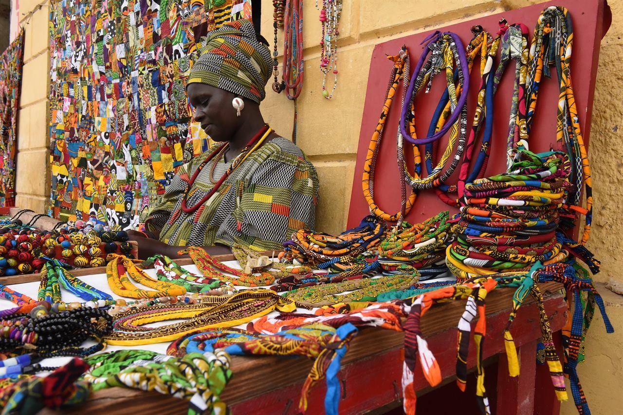 Сенегальская женщина