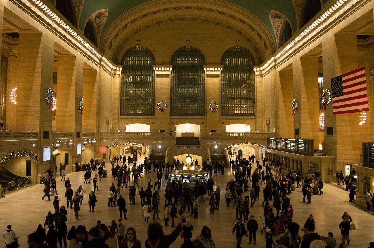 Центральный вокзал Нью–Йорк