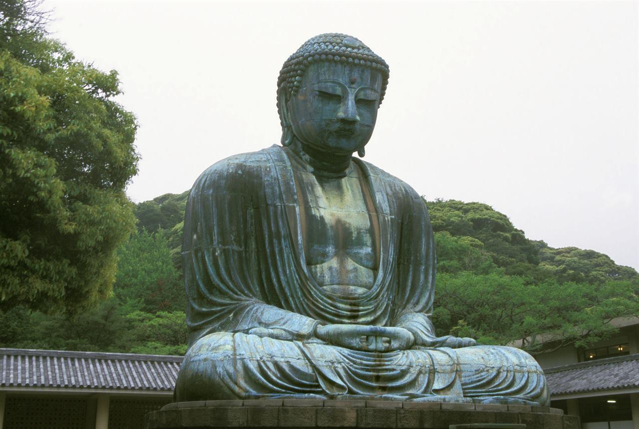 Храм Котоку-ин большой Будда