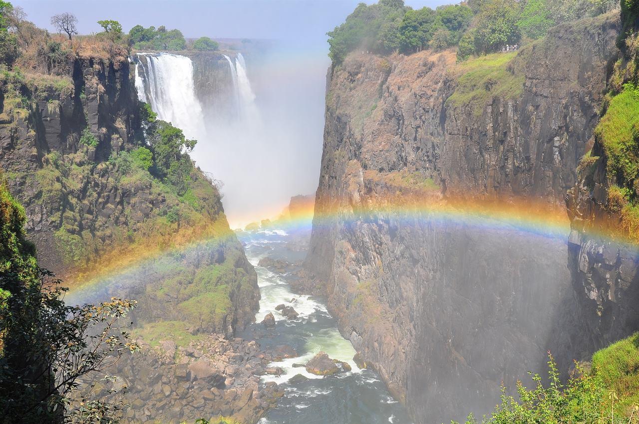 Путешествие в Южную Африку на водопад Виктория в Зимбабве