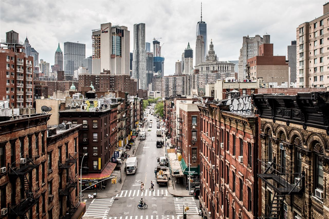 Манхэттен США