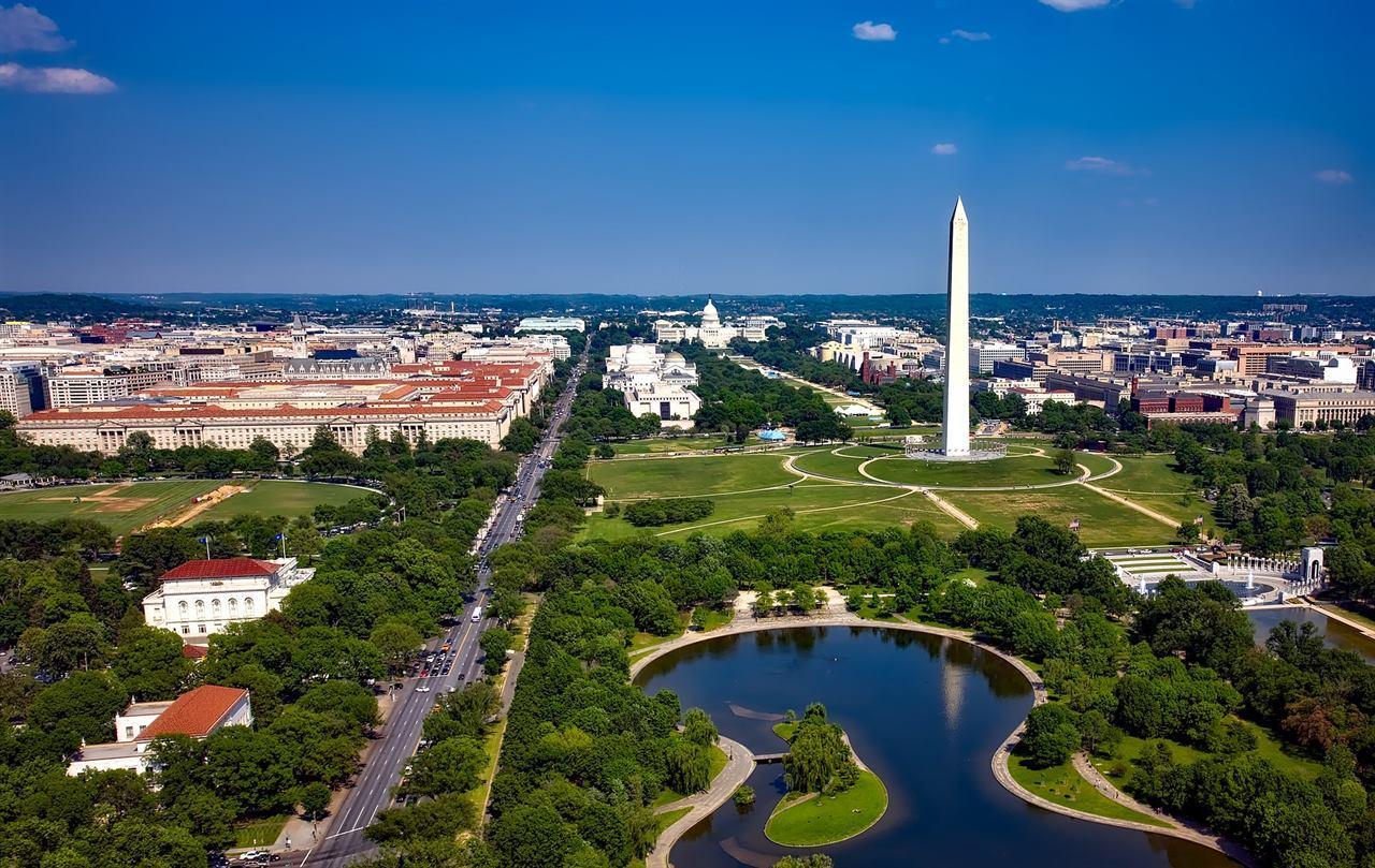 Вашингтон с высоты птичьего полета