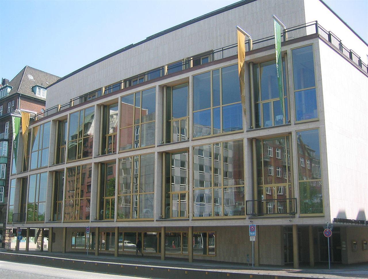 Оперный театр Гамбург